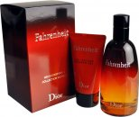 Christian Dior Fahrenheit Set de Regalo 100ml EDT + 50ml Gel de Ducha + 3ml Vaporizador