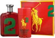 Ralph Lauren Big Pony 2 Set de Regalo 125ml EDT + Cascos