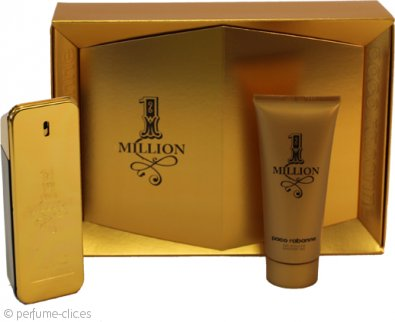 Paco Rabanne 1 Million Set de Regalo 100ml EDT + 100ml Gel de Ducha