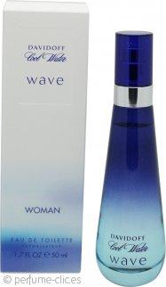Davidoff Cool Water Wave Eau de Toilette 50ml Vaporizador
