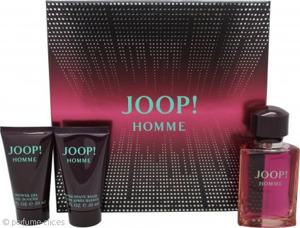 Joop! Joop! Homme Set de Regalo 75ml EDT + 50ml Gel de Ducha + 50ml Bálsamo Aftershave