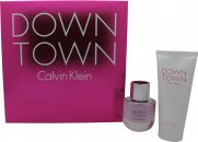 Calvin Klein Downtown Set de Regalo 50ml EDP + 100ml Loción Corporal