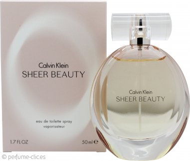 Calvin Klein Sheer Beauty Eau de Toilette 50ml Vaporizador