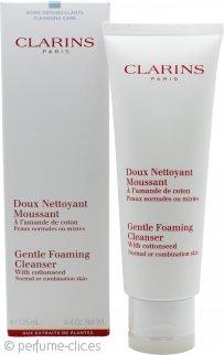 Clarins Cleansers and Toners Espuma Limpiadora Suave con Semilla de Algodón 125ml Pieles Normales/Mixtas