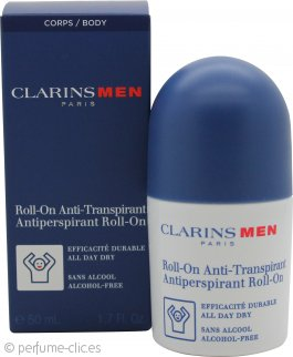 Clarins Men Desodorante Antiperspirante Roll-On 50ml