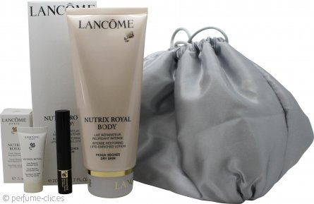 Lancome Nutrix Royal Body Set de Regalo 200ml Nutrix Royal Corporal + 5ml Nutrix Royal Crema + 2ml Hypnose Rímel