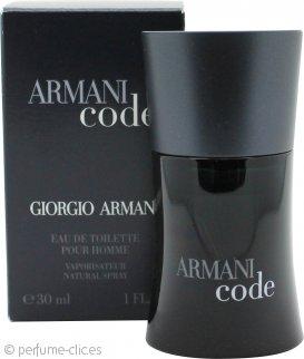 Giorgio Armani Code Eau De Toilette 30ml Vaporizador