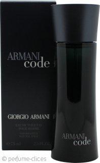 Giorgio Armani Code Eau De Toilette 75ml Vaporizador