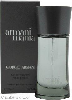 Giorgio Armani Armani Mania for Men Eau de Toilette 50ml Vaporizador