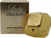 Paco Rabanne Lady Million Eau de Parfum 80ml Spray - Christmas Collector's Edition