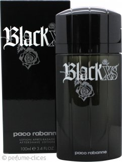 Paco Rabanne Black XS Aftershave 100ml Splash