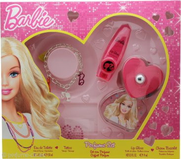 Barbie Barbie Set de Regalo 50ml EDT + Pulsera + Tattoo
