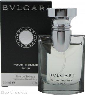 Bvlgari Pour Homme Soir Eau de Toilette 30ml Vaporizador