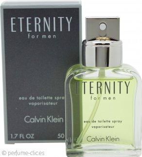 Calvin Klein Eternity Eau de Toilette 50ml Vaporizador