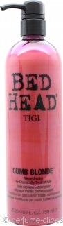 Tigi Bed Head Dumb Blonde Acondicionador Reconstructor 750 ml – Resaltado + Dañado + Tratado Artifical