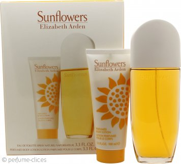 Elizabeth Arden Sunflowers Set de Regalo 100ml EDT + 100ml Loción Corporal