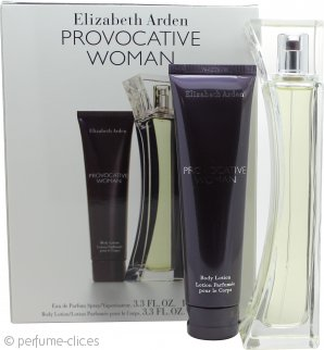 Elizabeth Arden Provocative Woman Set de Regalo 100ml EDP + 100ml Loción Corporal
