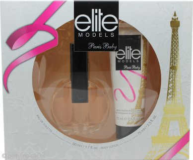Elite Paris Baby Set de Regalo 50ml EDT + 75ml Loción Corporal