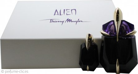 Thierry Mugler Alien Set de Regalo 30ml EDP No-Rellenable + 6ml EDP