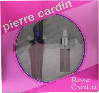 Pierre Cardin Rose Cardin Set de Regalo 30ml EDT Vaporizador + 15ml Vaporizador de Bolso