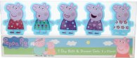 Peppa Pig Five Day Set de Regalo 5x 50ml Gel de Baño