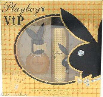 Playboy VIP for Her Set de Regalo 30ml EDT + 75ml Vaporizador Corporal
