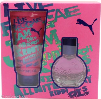 Puma Jam Woman Set de Regalo 20ml EDT + 50ml Gel de Ducha