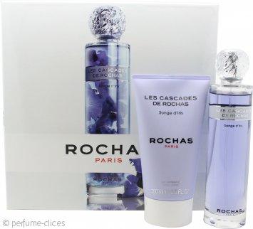 Rochas Les Cascades De Rochas Songe d'Iris Set de Regalo 100ml EDT + 150ml Loción Corporal