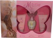 Mariah Carey Luscious Pink Set de Regalo 30ml EDT + 50ml Loción Corporal + 50ml Gel de Ducha