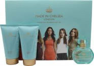 Made in Chelsea Set de Regalo 50ml EDP + 150ml Crema de Ducha + 150ml Loción con Brillo
