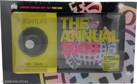 Ministry Of Sound Nightlife For Him Set de Regalo 30ml EDT + 2x Cds + 1 DVD de The 2009 Annual