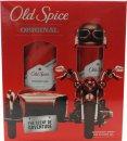 Old Spice Original Set de Regalo 150ml Desodorante en Vaporizador + 250ml Gel de Ducha