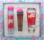 So...? Exciting Set de Regalo 50ml EDT + 100ml Loción Corporal + 75ml Exfoliante Corporal