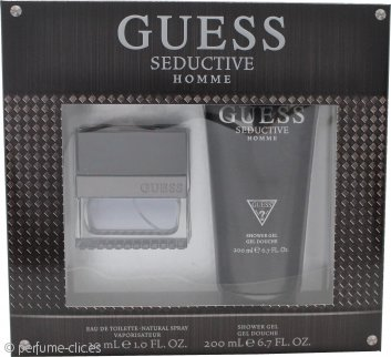 Guess Seductive Homme Set de Regalo 30ml EDT + 200ml Gel de Ducha