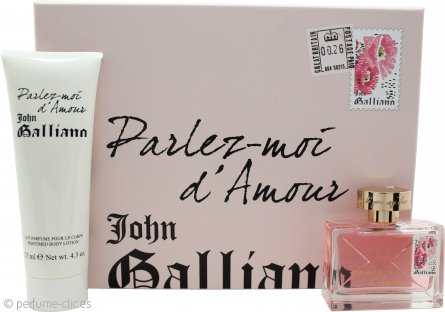 John Galliano Parlez-Moi dAmour Set de Regalo 50ml EDT + 125ml Loción Corporal