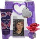 Justin Bieber Someday Set de Regalo 30ml EDP + 200ml Loción Corporal + Bolsa de Presentación Recuerdo + Ambientador Taquilla