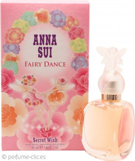 Anna Sui Fairy Dance Secret Wish Eau de Toilette 50ml Vaporizador