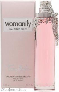 Thierry Mugler Womanity Eau pour Elles Eau de Toilette 80ml Vaporizador