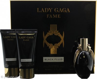 Lady Gaga Fame Set de Regalo 50ml EDP + 75ml Gel de Ducha + 75ml Loción Corporal