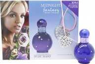 Britney Spears Midnight Fantasy Set de Regalo 30ml EDP + Collar Corazón