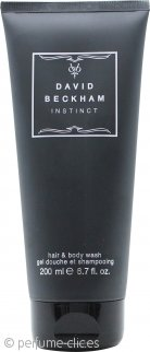 David Beckham Instinct Gel de Cuerpo y Pelo 200ml
