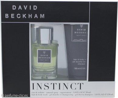 David Beckham Instinct Set de Regalo 30ml EDT + 150ml Jabón Pelo y Cuerpo