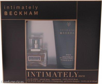 David & Victoria Beckham Intimately Set de Regalo 30ml EDT + 150ml Jabón Pelo y Cuerpo