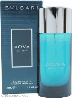 Bvlgari Aqva Pour Homme Eau De Toilette 30ml Vaporizador