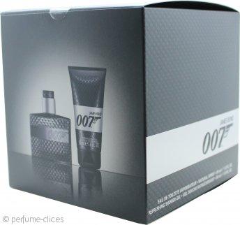 James Bond 007 Set de Regalo 30ml EDT Vaporizador + 50ml Gel de Ducha