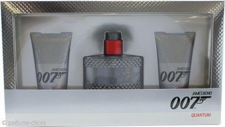 James Bond 007 Quantum Set de Regalo 50ml EDT + 2 x 50ml Gel de Ducha