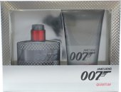 James Bond 007 Quantum Set de Regalo 50ml EDT + 150ml Gel de Ducha