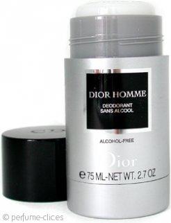 Christian Dior Dior Homme Desodorante de Barra Sin Alcohol 75ml