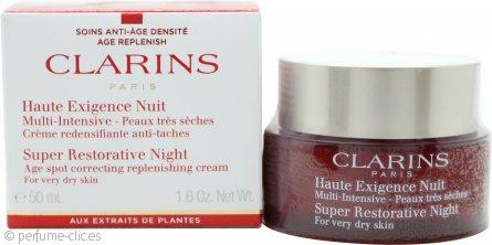Clarins Super Restorative Crema de Noche 50ml - Piel muy Seca
