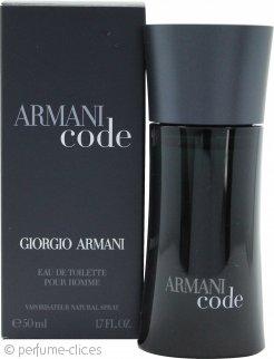 Giorgio Armani Code Eau De Toilette 50ml Vaporizador